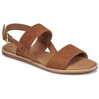 Chaussures Femme Sandales et Nu-pieds Clarks KARSEA STRAP Camel