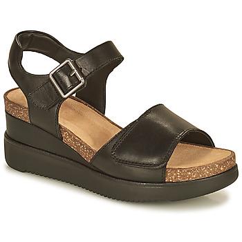 Chaussures Femme Sandales et Nu-pieds Clarks LIZBY STRAP Noir