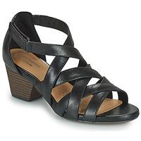 Chaussures Femme Sandales et Nu-pieds Clarks LORENE POP Noir