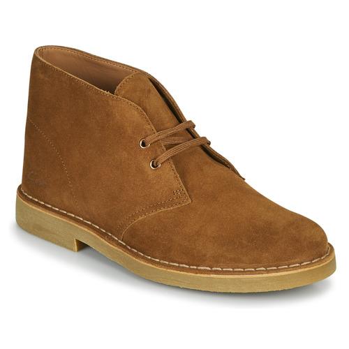 Chaussures Homme Boots Clarks DESERT BOOT 2 Marron