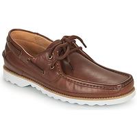 Chaussures Homme Chaussures bateau Clarks DURLEIGH SAIL Marron