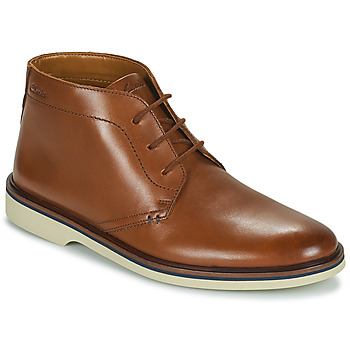 Chaussures Homme Boots Clarks MALWOOD MID Marron