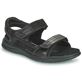 Chaussures Homme Sandales sport Clarks NATURE TREK Noir
