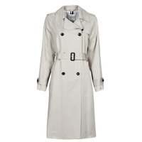 Vêtements Femme Trenchs Tommy Hilfiger DB LYOCELL FLUID TRENCH Beige