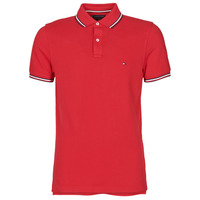 Vêtements Homme Polos manches courtes Tommy Hilfiger TOMMY TIPPED SLIM POLO Rouge