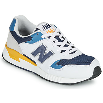 Chaussures Homme Baskets basses New Balance 570 Blanc / Jaune