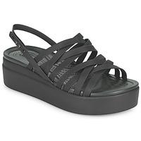 Chaussures Femme Sandales et Nu-pieds Crocs CROCS BROOKLYN STRAPPY LOWWDGW Noir