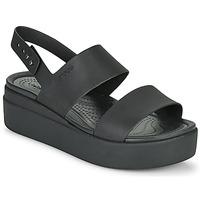 Chaussures Femme Sandales et Nu-pieds Crocs CROCS BROOKLYN LOW WEDGE W Noir