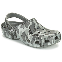 Chaussures Homme Sabots Crocs CLASSIC PRINTED CAMO CLOG Camouflage / Gris