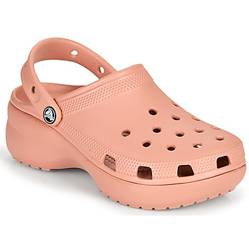 Chaussures Femme Sabots Crocs CLASSIC PLATFORM CLOG W Rose
