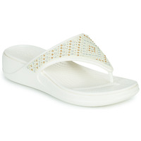 Chaussures Femme Tongs Crocs CROCS MONTEREY SHIMMER WGFPW Blanc