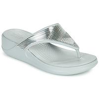 Chaussures Femme Tongs Crocs CROCS MONTEREY METALLIC WGFPW Argent