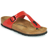 Chaussures Femme Tongs Birkenstock GIZEH Rouge