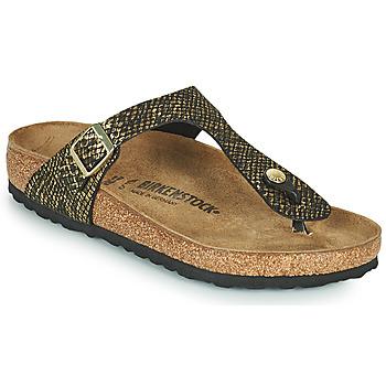Chaussures Femme Tongs Birkenstock GIZEH Noir