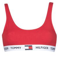 Sous-vêtements Femme Brassières Tommy Hilfiger BRALETTE Rouge