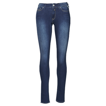 Vêtements Femme Jeans skinny Replay NEW LUZ Bleu Moyen