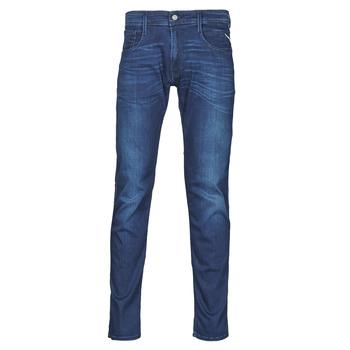 Vêtements Homme Jeans slim Replay ANBASS Pants Bleu Moyen