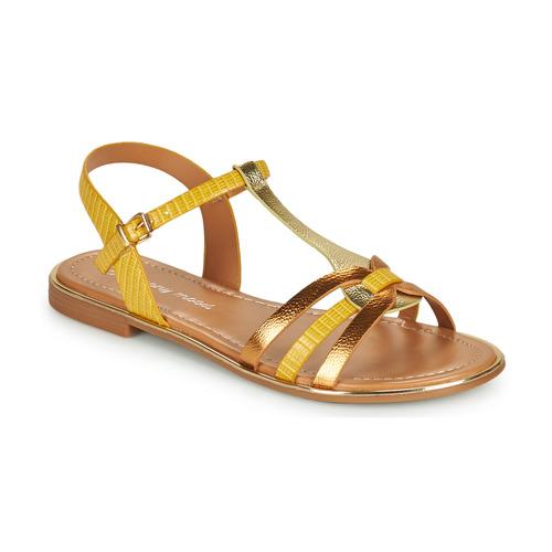 Chaussures Femme Sandales et Nu-pieds Moony Mood OSOM Jaune