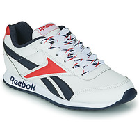Chaussures Enfant Baskets basses Reebok Classic REEBOK ROYAL CLJOG 2 Blanc / Marine / Rouge
