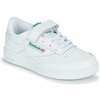 Chaussures Enfant Baskets basses Reebok Classic CLUB C 1V Blanc