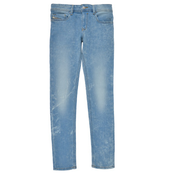 Vêtements Garçon Jeans skinny Diesel SLEENKER Bleu