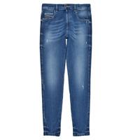 Vêtements Fille Jeans skinny Diesel D-SLANDY HIGH Bleu