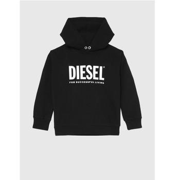 Vêtements Enfant Sweats Diesel SDIVISION LOGO Noir