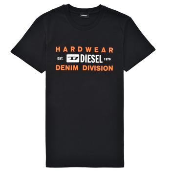 Vêtements Garçon T-shirts manches courtes Diesel TDIEGOSK32 Noir