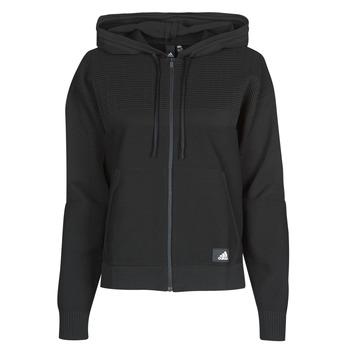 Vêtements Femme Sweats adidas Performance W Knit V Hoodie Noir