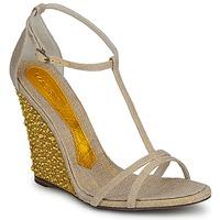 Chaussures Femme Sandales et Nu-pieds Magrit JOAQUINA Beige / Or