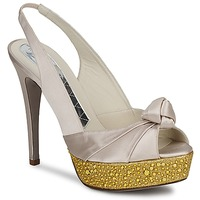 Chaussures Femme Sandales et Nu-pieds Magrit IMPERIALI Blanc / Or