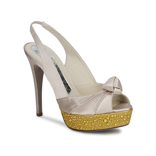Chaussures Femme Sandales et Nu-pieds Magrit IMPERIALI Blanc / Or
