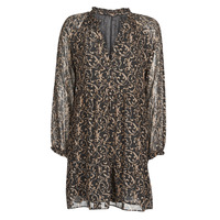 Vêtements Femme Robes courtes Moony Mood NILOSE Noir / or