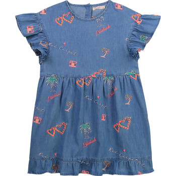 Vêtements Fille Robes courtes Billieblush / Billybandit U12640-Z10 Bleu