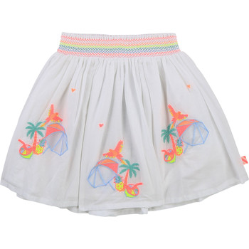 Vêtements Fille Jupes Billieblush / Billybandit U13275-10B Blanc
