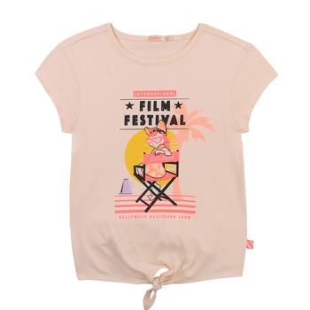 Vêtements Fille T-shirts manches courtes Billieblush / Billybandit U15852-44F Rose