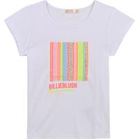 Vêtements Fille T-shirts manches courtes Billieblush / Billybandit U15857-10B Blanc