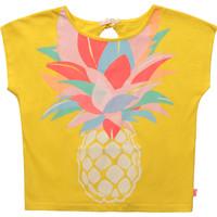 Vêtements Fille T-shirts manches courtes Billieblush / Billybandit U15873-548 Jaune
