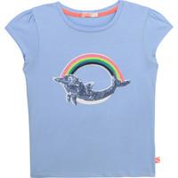 Vêtements Fille T-shirts manches courtes Billieblush / Billybandit U15875-798 Bleu