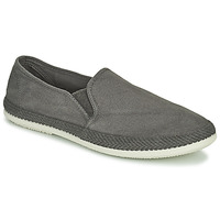 Chaussures Homme Espadrilles Bamba By Victoria ANDRE ELASTICOS LONA TIN Gris