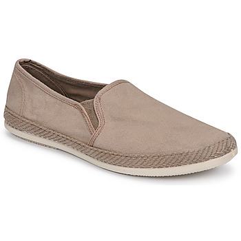 Chaussures Homme Espadrilles Bamba By Victoria ANDRE ELASTICOS LONA TIN Beige