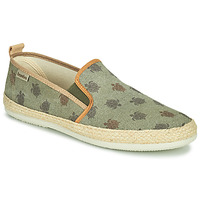 Chaussures Homme Espadrilles Bamba By Victoria ANDRE ELASTICOS LONA PE Kaki