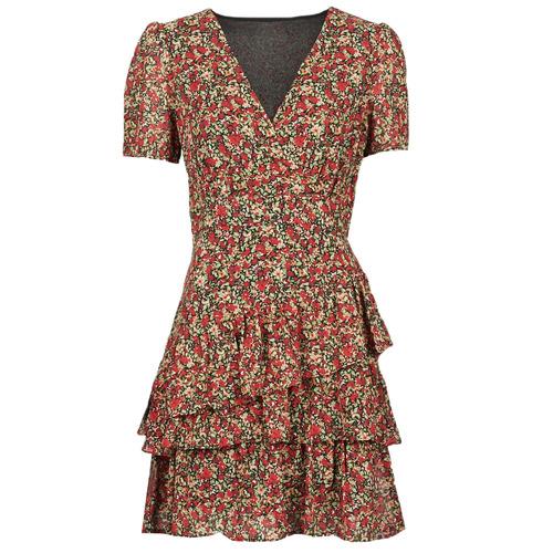Vêtements Femme Robes courtes Moony Mood  Rouge
