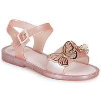 Chaussures Fille Sandales et Nu-pieds Melissa MEL MAR SANDAL FLY Rose / Or