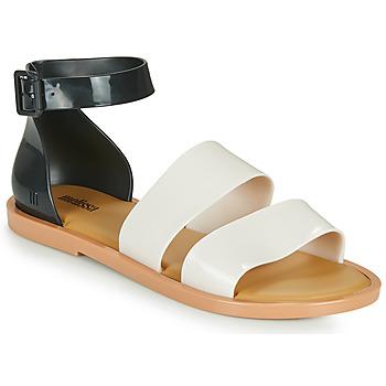 Chaussures Femme Sandales et Nu-pieds Melissa MELISSA MODEL SANDAL Blanc / Noir