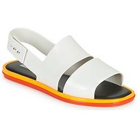 Chaussures Femme Sandales et Nu-pieds Melissa CARBON Blanc