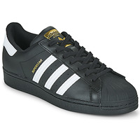 Chaussures Baskets basses adidas Originals SUPERSTAR Noir / Blanc