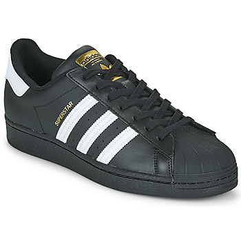 Chaussures Baskets basses adidas Originals SUPERSTAR Noir / Blanc