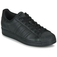 Chaussures Baskets basses adidas Originals SUPERSTAR Noir