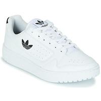 Chaussures Enfant Baskets basses adidas Originals NY 92 J Blanc / Noir